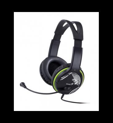 Auricular c/Mic Genius HS-400A Green
