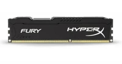 Memoria DDR3 8Gb 1600 Kingston HyperX Fury Black (0406)