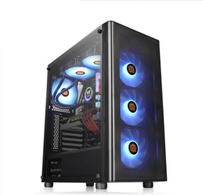 Gabinete TT V200 TG RGB Black/Temp Glass*1/Fan x 3 S/F (4398)