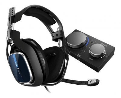 Auricular c/mic Astro A40 Black +MixAmp Pro PS4 939-001791