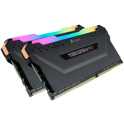 Memoria DDR4 Corsair 32Gb (2x16Gb) 2666MHz Vengeance RGB Pro Black (2068)
