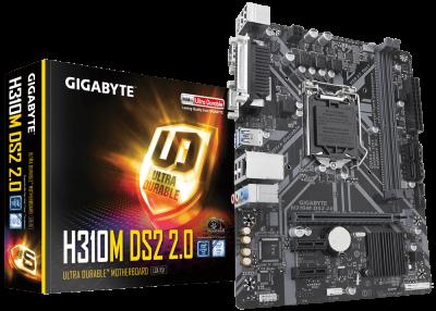 Mother GIGABYTE H310M-DS2  2.0 s1151 DDR4 SERIE/PARAL (8va y 9na) (3803)