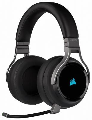 Auricular Corsair Virtuoso Wireless RGB HiFi Gaming Carbon (9224)