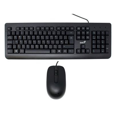 Teclado+Mouse Genius KM-160 USB (6175)