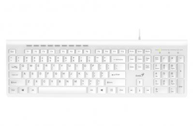 Teclado Genius SlimStar 230 USB White (7578)