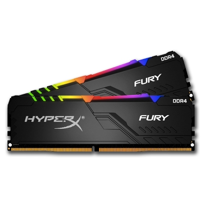 Memoria DDR4 8Gb 3200 Kingston HyperX Fury RGB (6327)
