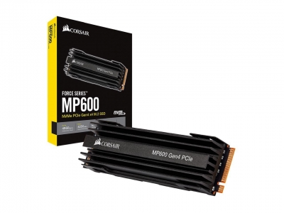 Disco SSD M.2 Corsair 500GB Force MP600 PCIe NVMe Gen4 (4531)