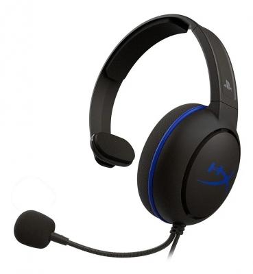 Auricular HyperX Cloud Chat Black/Blue (PS4 licensed) (5634)