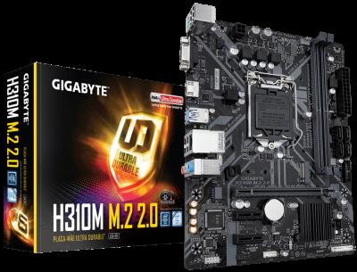 Mother GIGABYTE H310M M.2 2.0 s1151 DDR4 (8303)