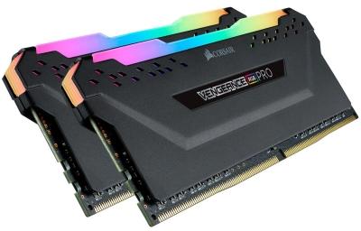 Memoria DDR4 Corsair 16Gb (2x8GB) 3200MHz Vengeance RGB Pro Black (5381)