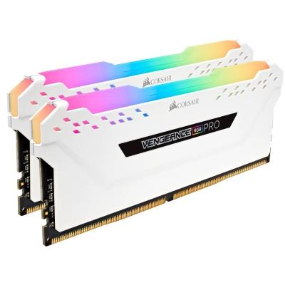 Memoria DDR4 Corsair 16Gb (2x8GB) 3200MHz Vengeance RGB Pro White (8719)