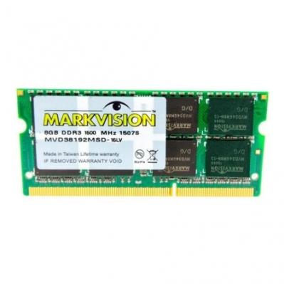 Memoria SODIMM DDR3 Markvision 8G 1600 MHz 1.35V BULK