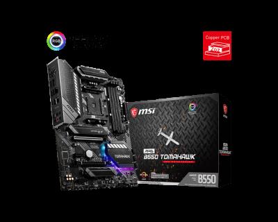 Mother MSI B550 Tomahawk sAM4 DDR4 (3ra y 5ta Gen) (8625)