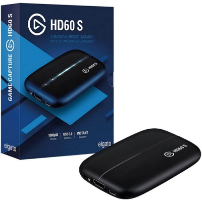 Capturadora Elgato HD60 S+ USB p/PS4 XBOX PC (9292)