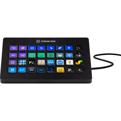 Stream Deck Elgato XL 32 botones LCD customizables (0373)