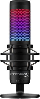 Microfono HyperX QuadCast S p/Steaming Condensador PC PS4 (3551)