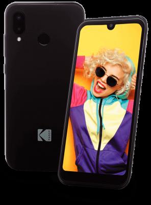 Celular Kodak Smartway T2 Octa-Core/2+16GB/Pantalla 5,71?/Android 9.0 Negro