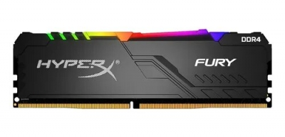 Memoria DDR4 8Gb 3000 Kingston HyperX Fury RGB (6501)
