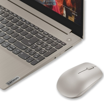 Mouse Lenovo Wireless 530 GRIS PLATA (6355)