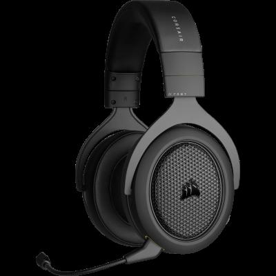 Auricular Corsair HS70 Bluetooth/Cable Black (4493)