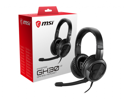 Auriculares MSI Immerse GH30 V2 PC/Consolas (7100)