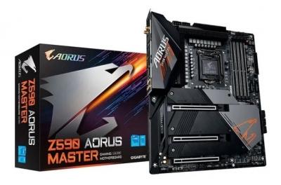 Mother GIGABYTE Z590 AORUS MASTER s1200 DDR4 (11ma gen) (4403)