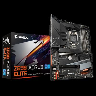 Mother GIGABYTE Z590 AORUS ELITE s1200 DDR4 (11va gen) (5325)