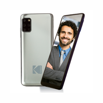 Celular KODAK Smartway F1 Pantalla 6.55? 4GB RAM 64 GB ROM Android 10 Gris (5706)