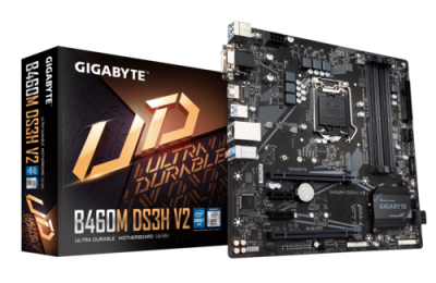 Mother GIGABYTE B460M DS3H V2 s1200 DDR4 (10ma gen) (3765)