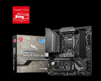 Mother MSI B560M MORTAR S1200 DDR4 (11va Gen) (7832)