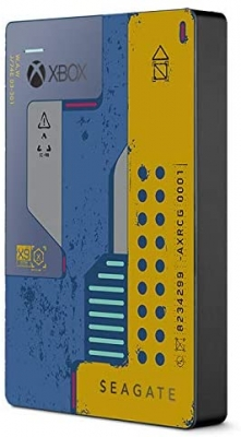 HD SEAGATE External 2TB USB 3.0 GAME DRIVE para XBOX CYBERPUNK (8542)