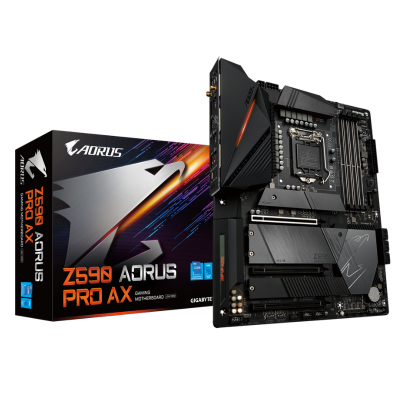 Mother GIGABYTE Z590 AORUS PRO AX s1200 DDR4 (11va gen) (4427)