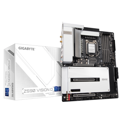 Mother GIGABYTE Z590 VISION D s1200 DDR4 (11va gen)