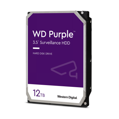 HD Western Digital 12TB SATA III PURPLE SURVEILLANCE