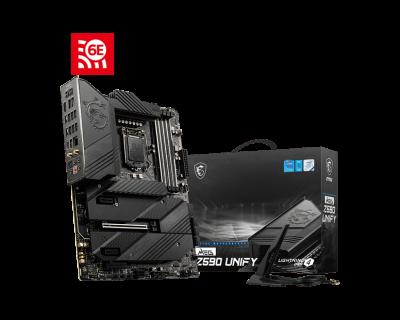 Mother MSI Z590 UNIFY s1200 DDR4 (11va gen) (2194)