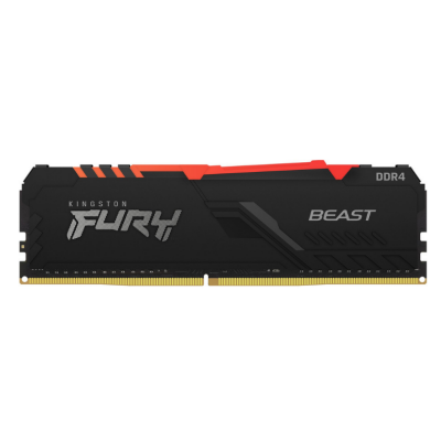 Memoria DDR4 8Gb 3000 Kingston FURY BEAST  RGB (9545)