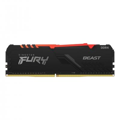 Memoria DDR4 8Gb 3600 Kingston FURY BEAST  RGB (9101)